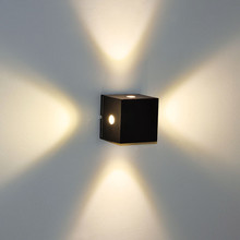 European style wall spot 2w 4w led light source up and down wall light led
