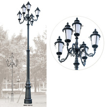 aluminum garden street light pole light garden