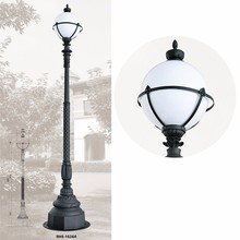 classical garden lamp stand old fashioned outdoor post light led street garden light 24w
