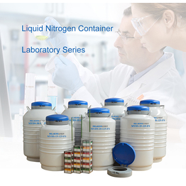 Liquid Nitrogen Container High Capacity Liquid Nitrogen Tank for Laboratory