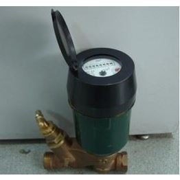 copper sealed register with 360° rotating Volumetric concentrate water meter