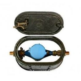 Iron cast water meter box widely used