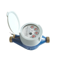 Mulit-Jet Dry Type Vane Wheel Water Meters(Plastic Body)
