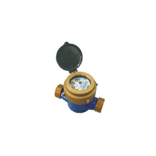 Single Jet Liquid Sealed Vane Wheel Water meter(brass)