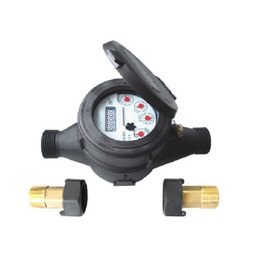 Liquid Sealed vane Wheel Water Meter(Plastic Body)