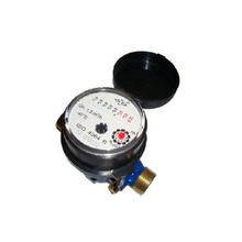 Single-jet Super Dry Cold Water Meter (8roller,brass)