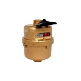 Rotary Piston Water Meter (brass)