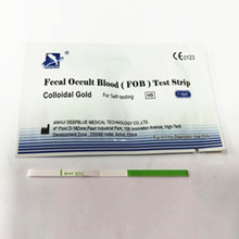 One Step Tumor Marker FOB Rapid Test Strip