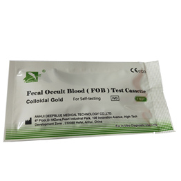 Fecal occult blood test Kit rapid diagnostic kit for FOB