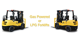 Gas Powered or LPG Forklifts