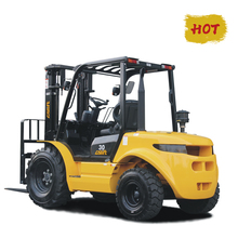GS 2WD Rough Terrain Forklift with Yanmar Engine