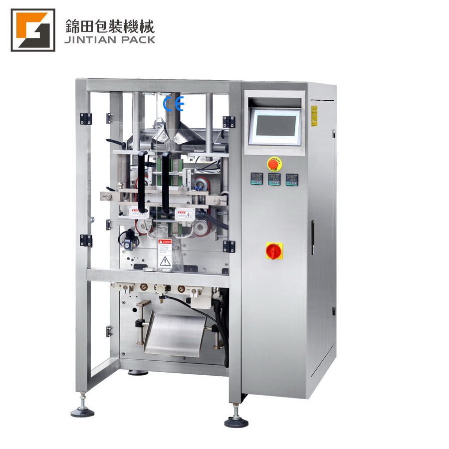 Fully automatic vertical potato chips packing machine