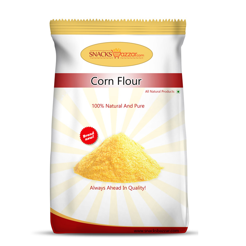 for corn flour package