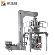 10-3000 g multihead weigher snack food automatic packing machine