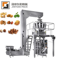 Garlic packing machine with multihead weigher JT-420W