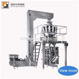 Nitrogen Flushing Grain Granulate Weigh Filler Package Sealing Nimko Sachet Packing Nuts Dry Fruit Beans Seed Packaging