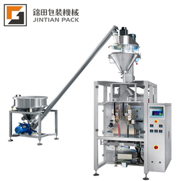 Packaging Center USA - Machines > Form Fill & SealJT-460 VF auger filler stand up bag coffee powder packing machine CE approved
