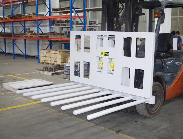 Load Push forklift attachement