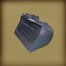 Standard Excavator Grill Bucket With High Quality