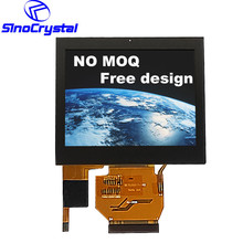 Sunlight high brightness 3.5 inch touch lcd TFT touch screen