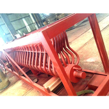 Customized manifold header heat exchanger of steam boiler