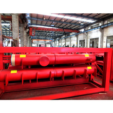 Industrial thermal heating fire steam boiler drum header