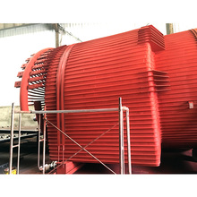 Large CFB Boiler Industrial Cyclone Separator With High Speed Rotating Air Flow