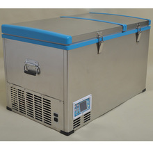 Double Cabinet Dc Freezer Solar Power System frige Wholesale