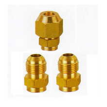 Hot Sale Brass Copper Charging Adapters Quick Couplers Flare Fittings