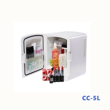 Wholesale Cheap Portable Thermoelectric Cosmetic 5L Mini Refrigerator for Car and Bedroom