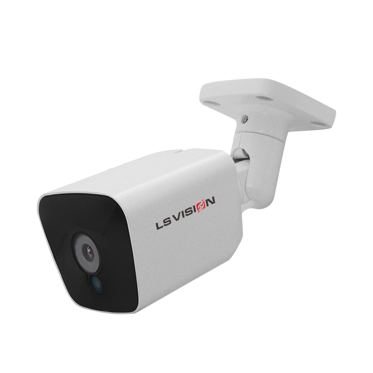 LS VISION 2MP 1080P HD Full Color Night Vision Starlight Bullet IP Camera POE