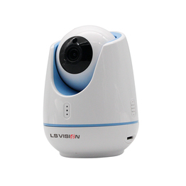 LS VISION Indoor Mini Cloud 1080P Full HD Night Vision Surveillance Auto Tracking Wireless Smart Control PTZ IP Cameras