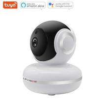 LS VISION Tuya 360 Degree Smart Indoor Video Surveillance Tacking Wireless Panoramic 1080P HD Home PTZ Security Camera
