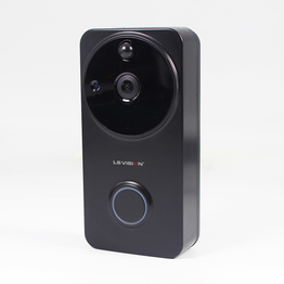 LS VISION Wide Angle 720P WiFi Low Power Consumption PIR Sensor Motion Alarm Intercom IR Waterproof Smart Video DoorBell