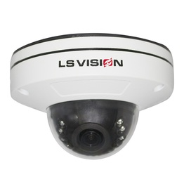 LS VISION H.265 4MP POE Audio RS485 Dome Cctv Camera with Face Detection and TF Card Slot