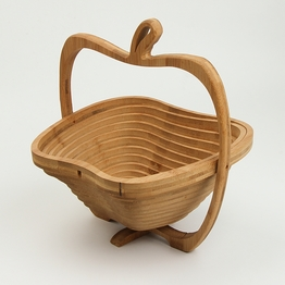 Elegant Mini  Bamboo Basket  For Small Things Collecting
