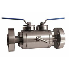 Double block Ball Valve and bleed Ball Valve