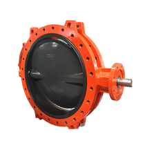 Wafer Centerline Cast Iron Viton Seat Butterfly Valve