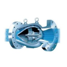 Cast Iron Slow Closing Axial Flow Check Valve China