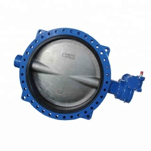 Gear Center Line Pneumatic Actuator Butterfly Check Valve