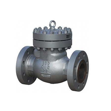 Didtek Cast Steel Swing Flange  Piston Check Valve