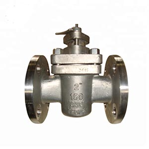 Sleeve Type Soft Sealing Flange End connection lift Plug Valve
