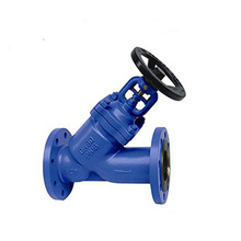 Forged connection steel din y-pattern globe valve