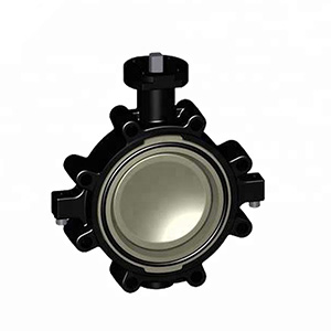 Cast iron electric ectuator keystone butterfly valve