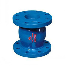 Cast iron flange electric axial silent check valve