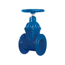 Manual operation soft sealed cast steel 6 inch gate valve