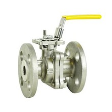 High quality api6d full bore ptfe flange ball valve without direct mounting pad