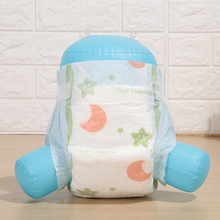 High Quality Breathable Clothlike Printing Backsheet  Magic Side Tape small Elastic Waist Band A grade Disposable Baby Diapers