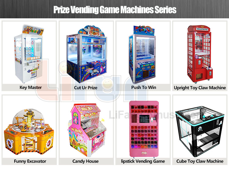 Prize Vending Game Machines