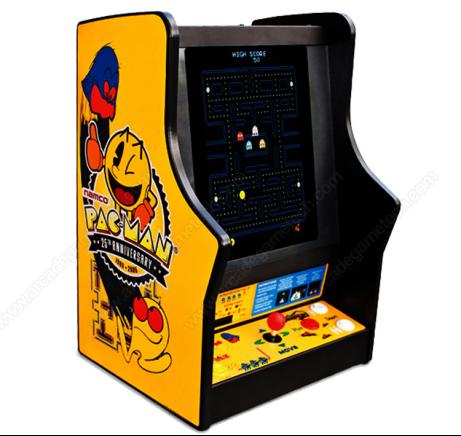 <bartop arcade machine>